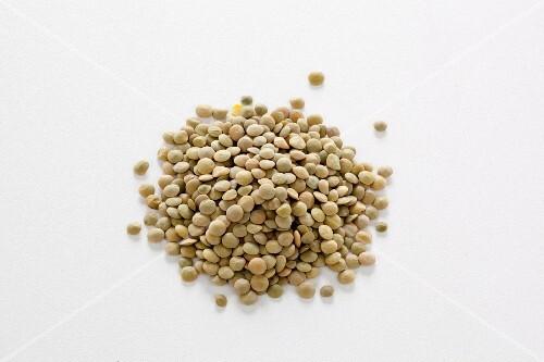 A pile of lentils
