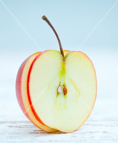 An apple slice