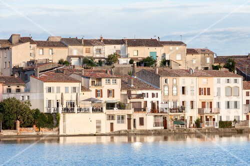 Canal Du Midi in Castelnaudary (Languedoc-Roussillon, France)