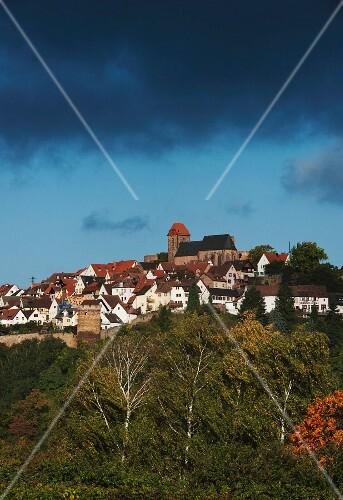 The wine town of Neuleiningen (Rhineland Palatinate)