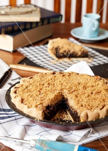 Shoofly Pie (molasses crumble cake, USA)
