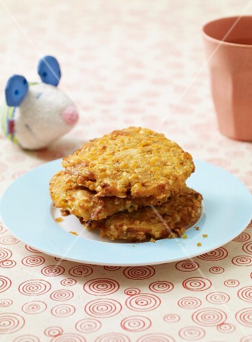 Lentil cakes as baby food