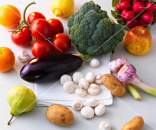 Cholesterol reducing fruit and vegetables