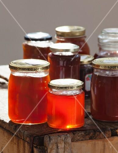 Jars of Golden Syrup