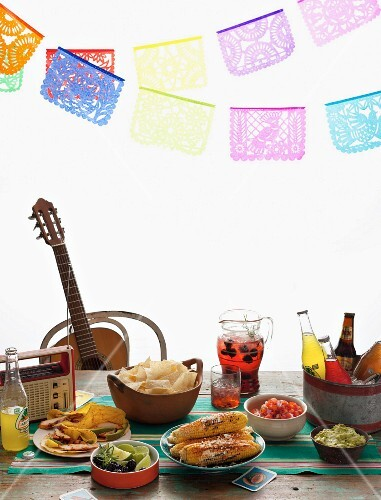A Cinco de Mayo party table