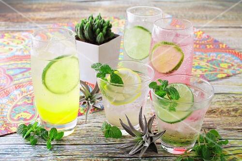 Various Margaritas