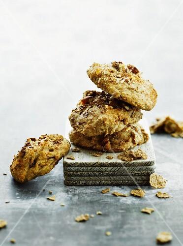 Wholemeal cornflake cookies