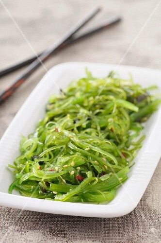 Seaweed salad with sesame seeds (Japan)