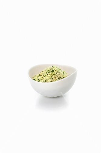 A bowl of hemp