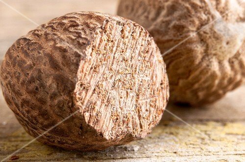 Nutmegs (close-up)