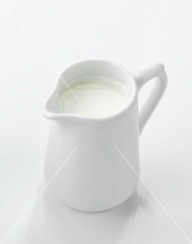 A jug of cream