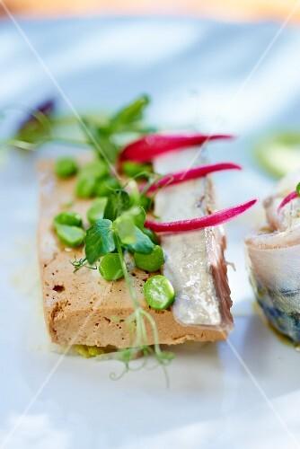 Sardines with tofu