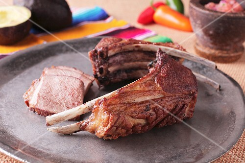 Lamb chops, sliced (Mexico)