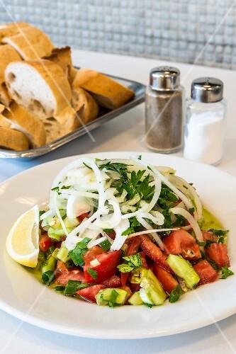 Coban Salatasi (Turkish country salad)