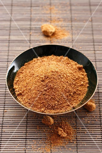 A bowl of palm sugar