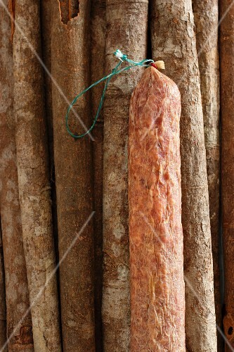 Air-dried salami