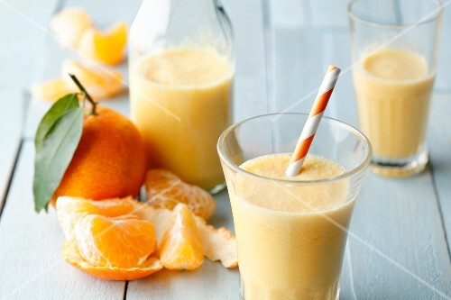 Mandarin smoothies