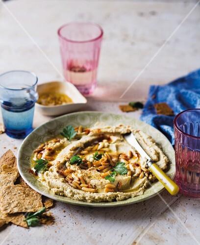 Baba Ghanoush (aubergine purée, Arabia)
