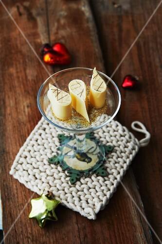 Vegan gingerbread pralines for Christmas