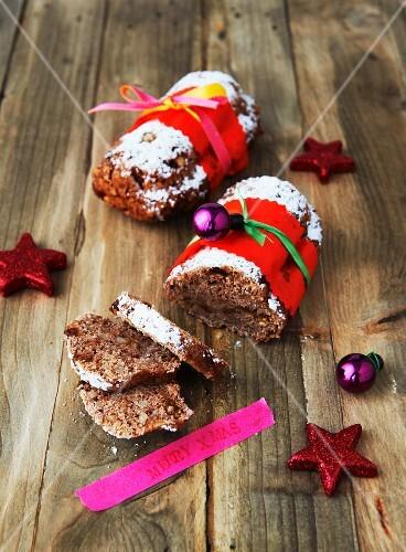Veganes aromatisches Apfelbrot zu Weihnachten
