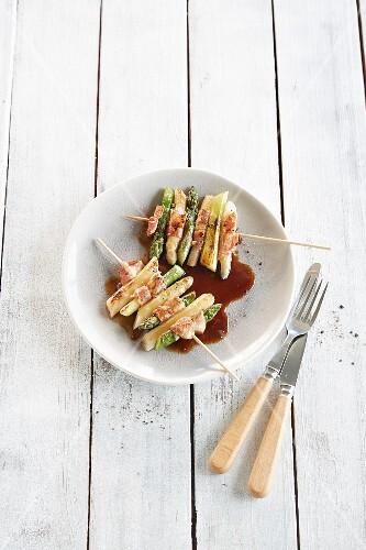 Asparagus teriyaki