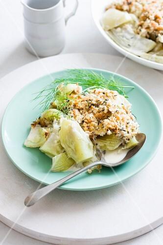 fennel gratin