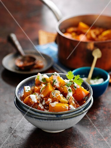 Vegetable stew with pumpkin and cauliflower (Baltic states)