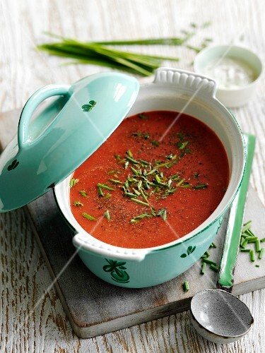 Beetroot and carrot soup