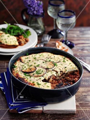 Vegetarian Quorn moussaka