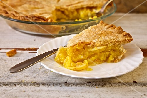 Shaker Lemon Pie, USA