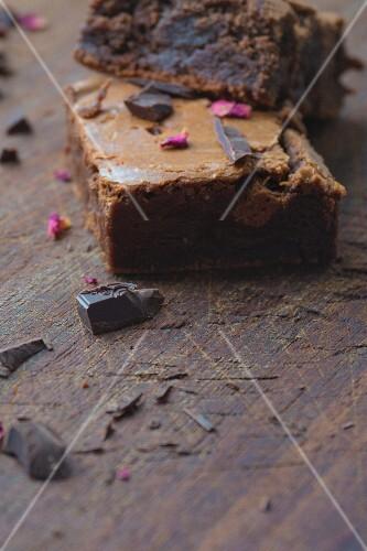 Brownies and chocolate
