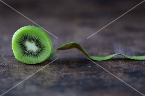 Kiwi, abgeschält