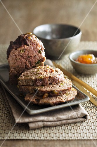 Meatloaf with chutney