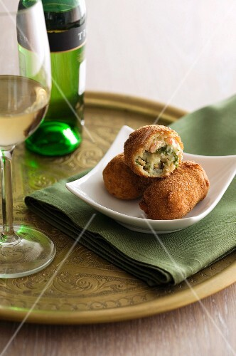 Croquettes and sherry