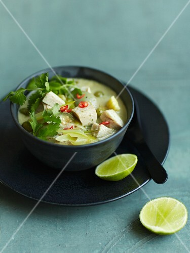 Tom Ka Gai (chicken soup, Thailand)