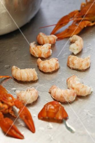 Crayfish meat
