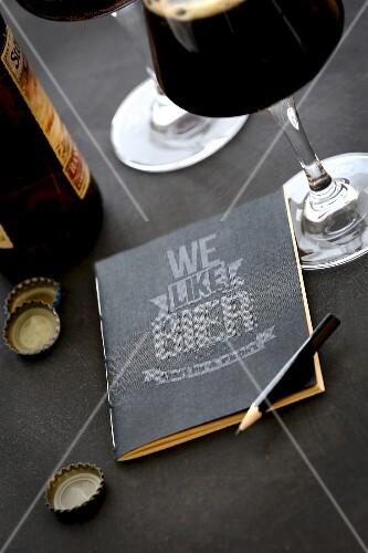 Tasting notes book: We like Bier
