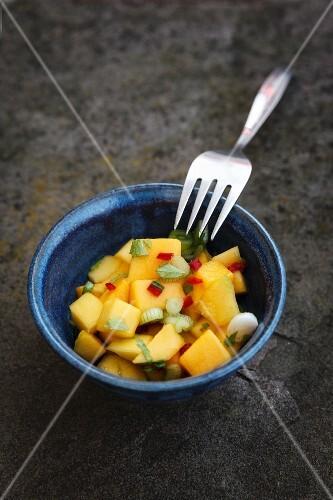 Mango relish (gluten and lactose free)