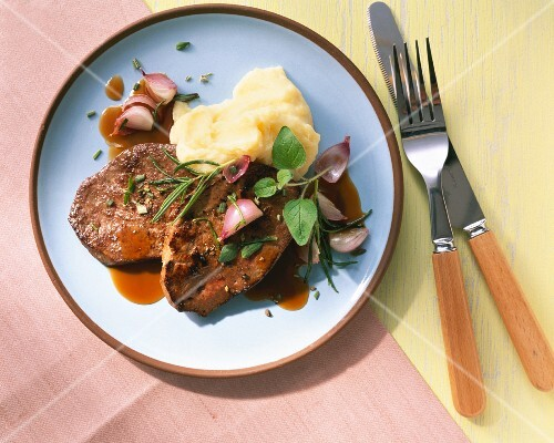 Liver with herbs de Provence