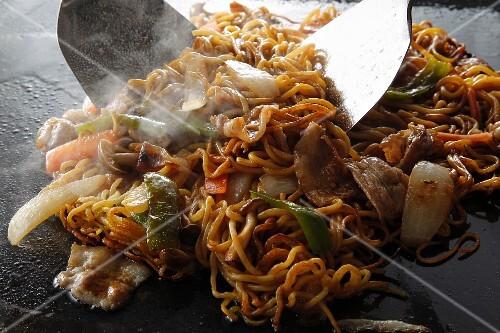 Yakisoba (Japanese noodle dish)