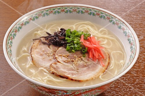 Hakata Ramen (noodle soup with pork, Japan)