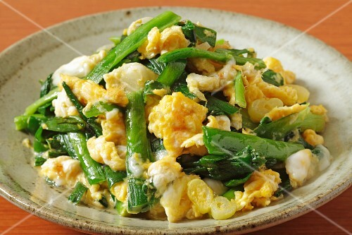 Scrambled egg with vegetables (Japan)