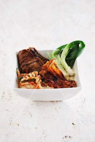 Grilled, Korean-style beef