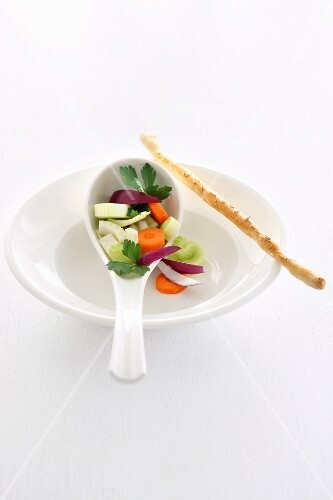 Soup vegetables (to form the basis of soup)