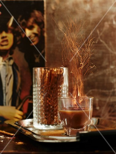A 'Highway to Hell' cocktail from the 1980s