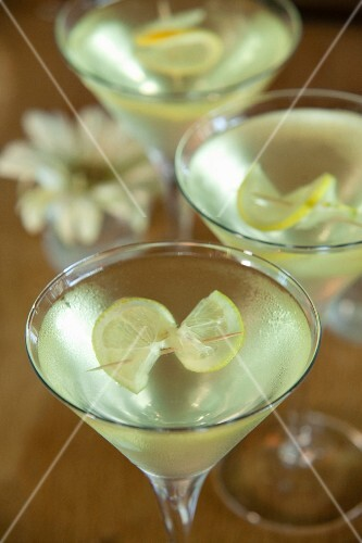 Martini with gin and limoncello