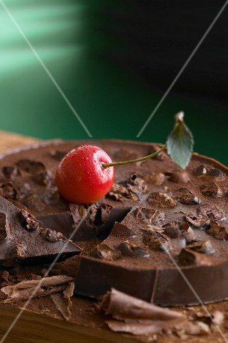 Chocolate with a cherry