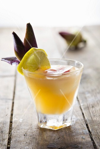 A fruity cocktail
