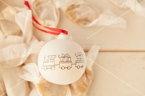 Homemade vanilla caramel sweets for St. Nicholas Day