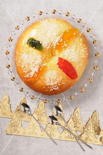 Royaume (Three Kings cake, France)